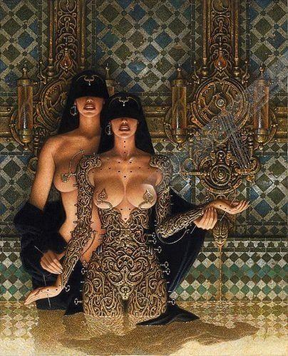 Egyptian girls topless #8