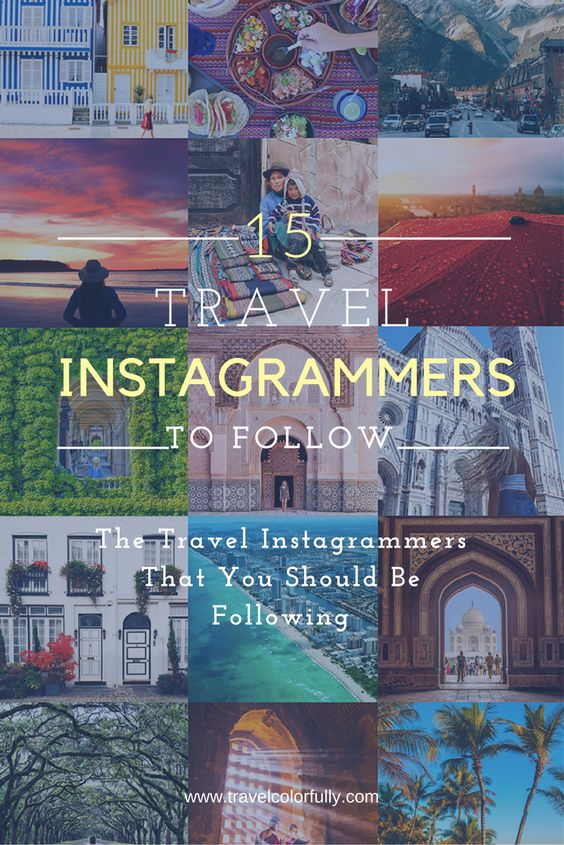 I often turn to my favorite travel Instagrammers to provide me with the inspiration that I need. I've rounded up 15 amazing travel Instagrammers for you.
