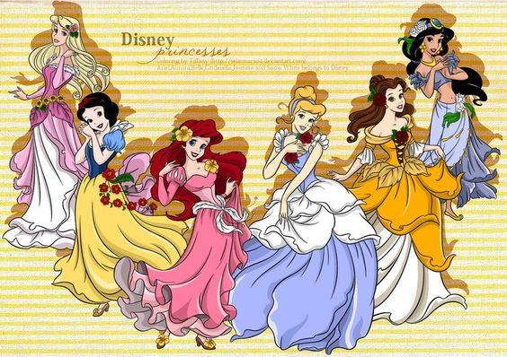 CP - Disney Princesses by ~selinmarsou