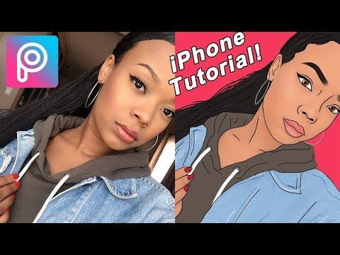 3 Cartoonify Yourself Like A Pro With Picsart Easy Tutorial Youtube Picsart Tutorial Picsart Photo Editing Apps