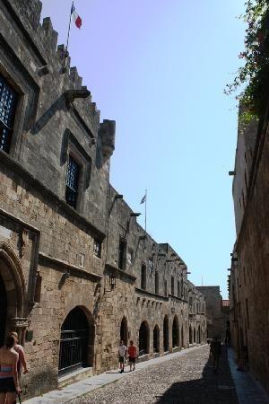 Ancient Rhodes: Via dei cavalieri