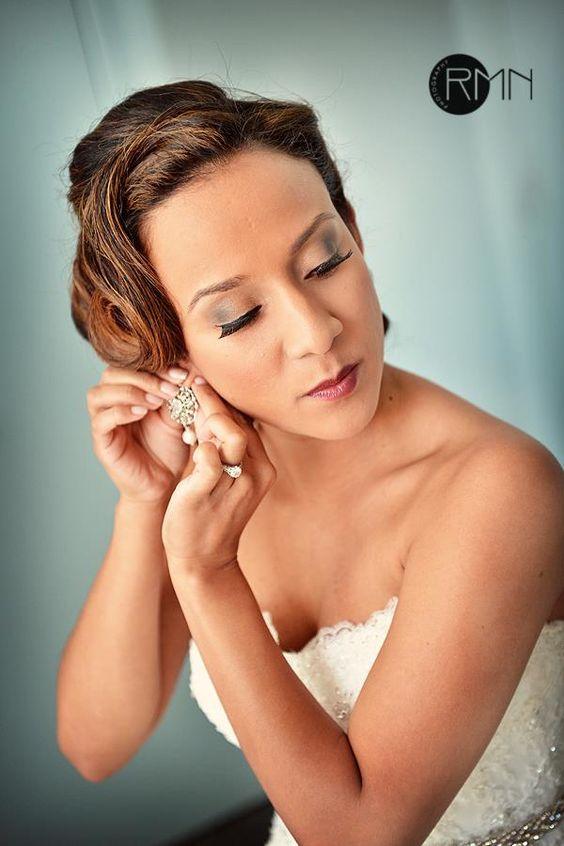 Makeup- Suzanne #boldeyes #fulllashes #berrylips #bride #weddingmakeup #opulent