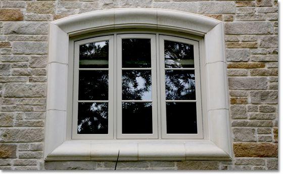 Precast Concrete Windows : Stone window surrounds pictured above espinoza custom