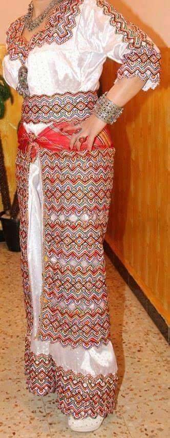 فستان القبيلية: