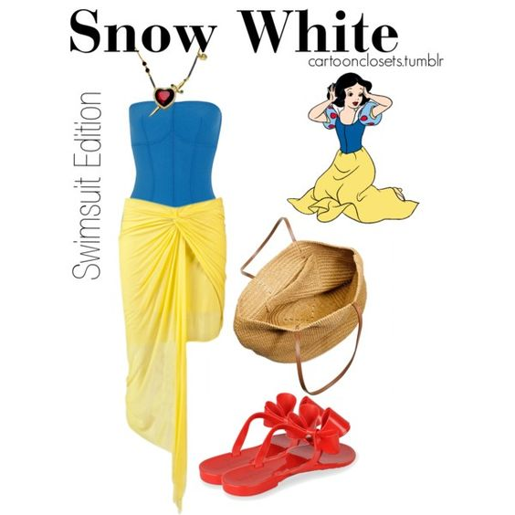 """""""Snow White"""" by bforbel on Polyvore"""
