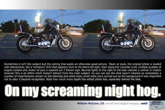 Screaming Night Hog wmiii Digital Imaging New Stuff