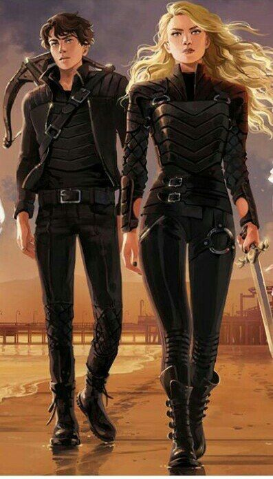 Emman and Julian (The Dark Artifices) by Alice Duke