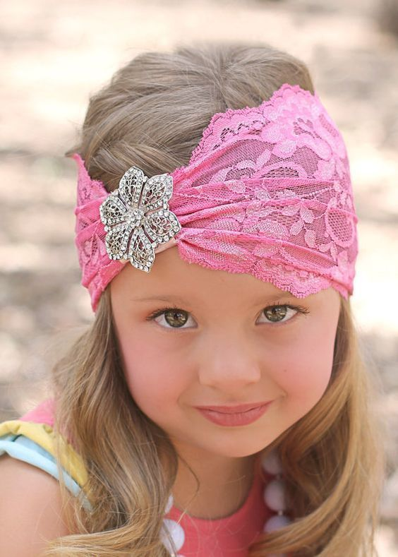Kiz Bebek Sac Bandi Modelleri Headbands Bohemian Headband Lace