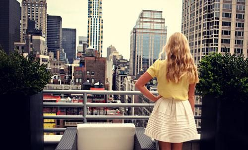 The gorgeous view in NYC!