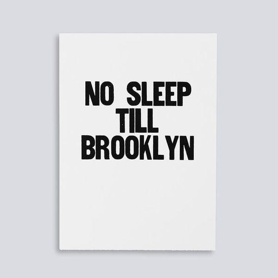 No Sleep Till Brooklyn on bezar.com