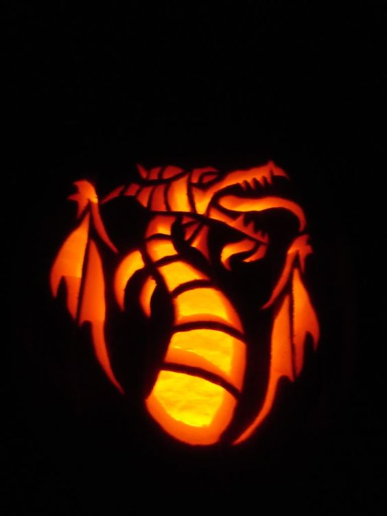 This would make an awesome pumpkin carving design