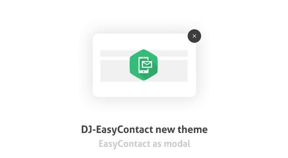 What should you know about latest DJ-EasyContact #free #contact form #module update?