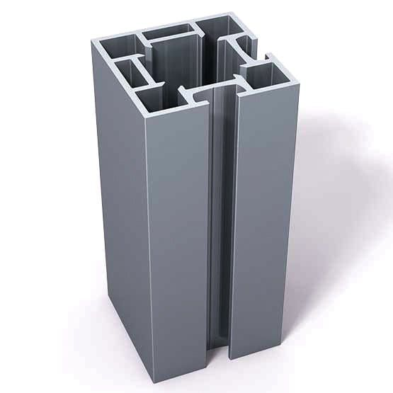 Vs45 2 Vertical Extrusion Drilled For Insert Block Extrusion Modular Display System Aluminum Extrusion