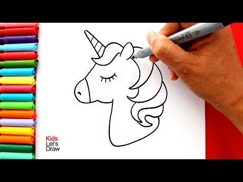 Cómo Dibujar Y Pintar Un Unicornio Kawaii Muy Fácil How To Draw A Cute Unicorn Easy Yo Como Dibujar Un Unicornio Unicornios Para Dibujar Unicornio Pintar