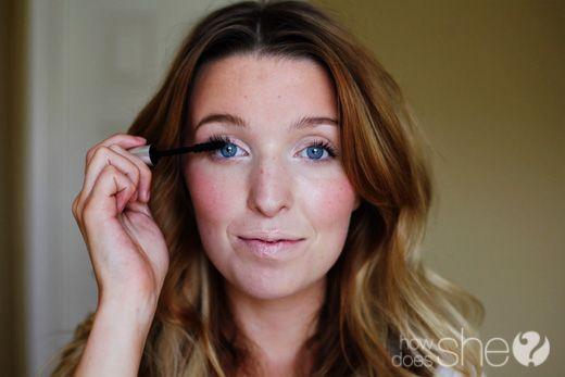 Helpful make-up tutorial