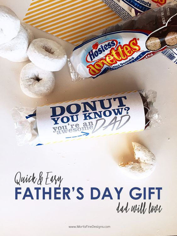quick father's day gifts diy