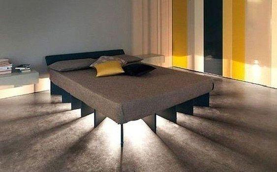 : Lighting Idea, Bedroom Design, Bed Frame