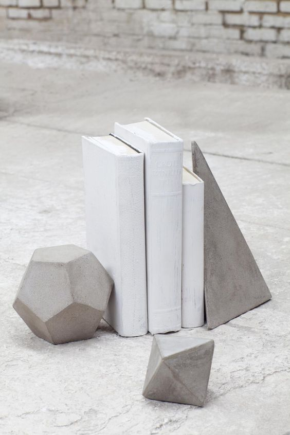 Presse papier en béton