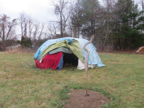 Une tente de sudation