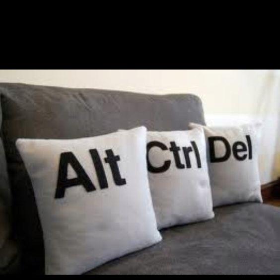 Estresse nas almofadas!