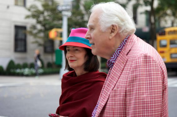 ADVANCED STYLE Carol and Richard