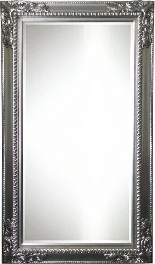 Spiegel Milou Zilver Buitenmaten Breed 84 Cm X Hoog 184 Cm Spiegel Zilver Hoog