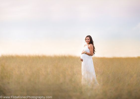 key west maternity session - sunset beauty - Tahina is a gorgeous mamma to be in her white gown  location: Fort Zachary Taylor state park photographer: Filda Konec Photography