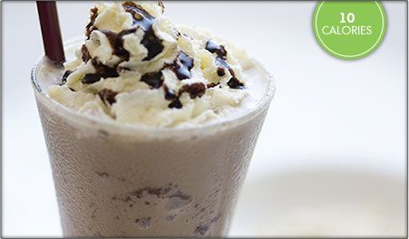 Blended Iced Coffee with Truvia