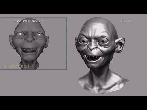 Kunst Und Animation Vfx Tutorials Realistische Charaktere Process Cartoon Video 3d Realistic