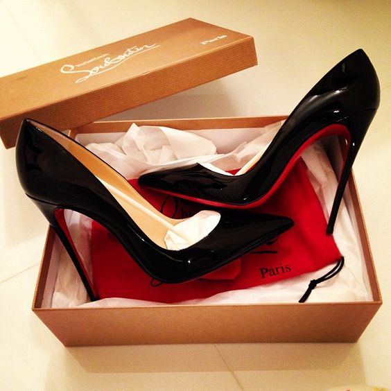 red bottom heels pumps christian louboutin 39 wedges
