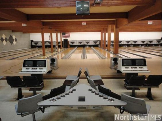 16 Lane Active Bowling Alley built in 1954 with addition in 80s, current familys business since 1969. $12,000 additional annual income from lease  of partial parking lot, the perfect family business located just 40 min from Twin Cities on Hwy 212!
