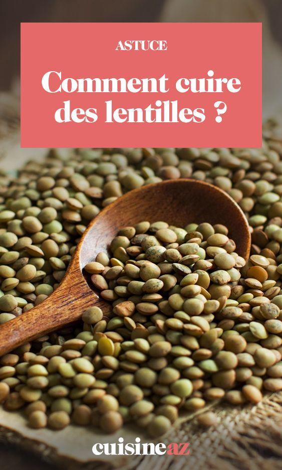 Comment Cuire Des Lentilles Comment Cuire Des Lentilles Cuisson Lentilles Faire Cuire Des Lentilles