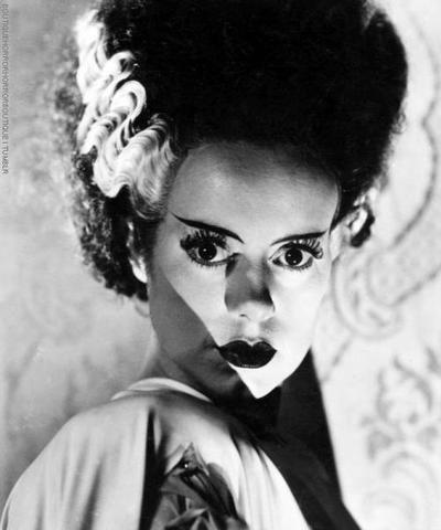 Beautiful ~ Elsa Lanchester ~  Bride of Frankenstein, 1935