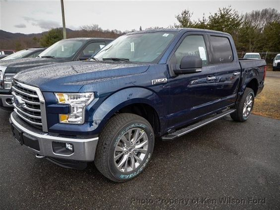 2015 Ford F-150 XLT 4WD SuperCrew 5.0L V8. Blue Jeans ...