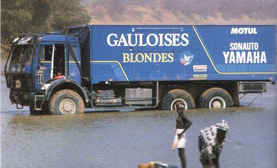 Sonauto YAMAHA Service Truck 1986