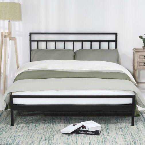 Snelson Model Steel Platform Bed Metal Platform Bed Headboards