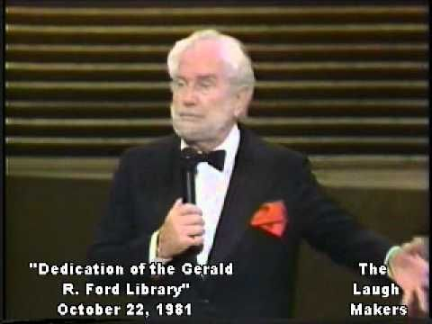 1981 Dedication of the Gerald Ford Library  Foster Brooks