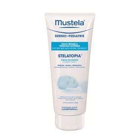 Mustela Stelatopia crema emoliente 200 ml. Cuidado emoliente de uso diario para las pieles secas con tendencia atópica de recién nacidos, bebes y niños. para cara y cuerpo. formulada para minimizar el riesgo de reacción alérgica.