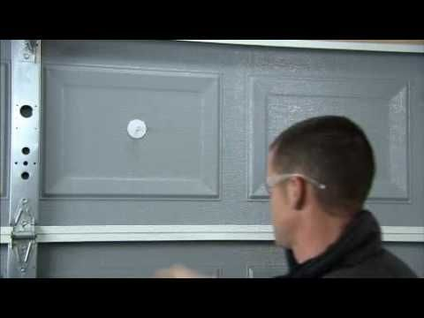 How To Insulate A Garage Door Steel Home And We