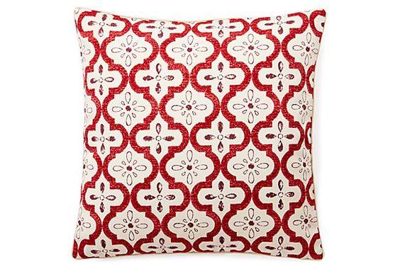 Tilt 20x20 Outdoor Pillow, Multi on OneKingsLane.com
