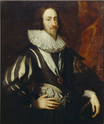 after Anthony Van Dyck - portrait of Charles I, Dulwich Picture Gallery