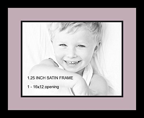 art to frames doublemultimat72880589frbw26079 collage photo frame double mat with 1 12x16 openings and satin black