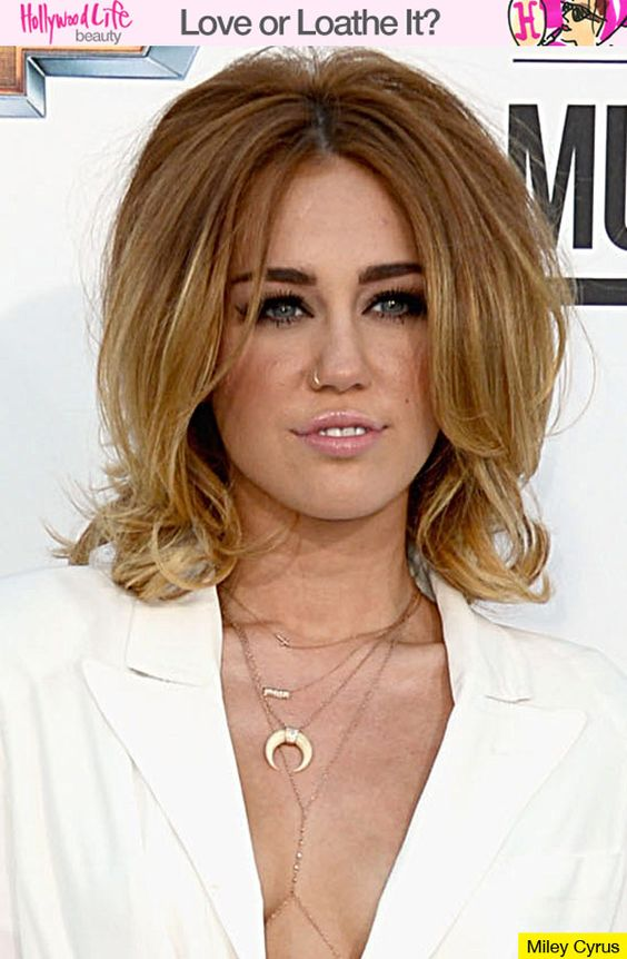 Miley Cyrus' Retro Hair... seriously love her look...