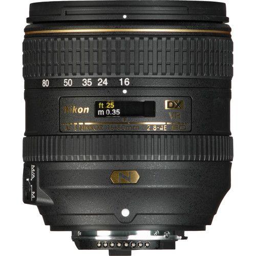 Nikon Af S Dx Nikkor 16 80mm F 2 8 4e Ed Vr Lens 20055 B H Photo Vr Lens Nikon Digital Camera Nikon