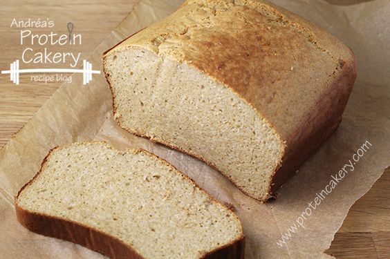 Honey Oat Protein Bread - Andréa's Protein Cakery high protein recipes, gluten free bread recipe, low carb bread recipe