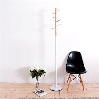 [EA2003] unstamped wind wood-based Hanger (White) -  | Pinkoi