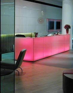 reception desk inspiration