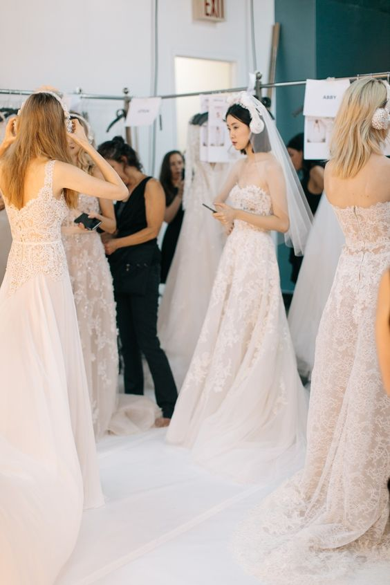 Reem Acra Bridal Fall 2016. / Wedding Style Inspiration / LANE: