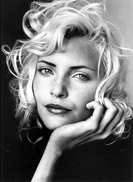 Hair + Face. Irving PENN / Nadja Auermann for Vogue, July 1994