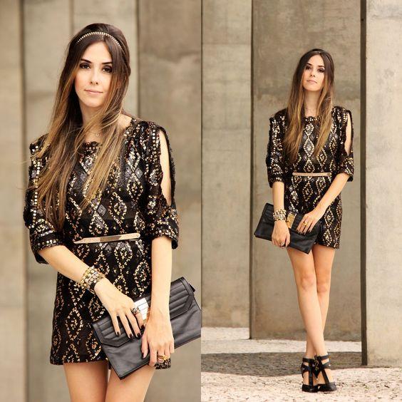 Flávia D. - Black & Gold